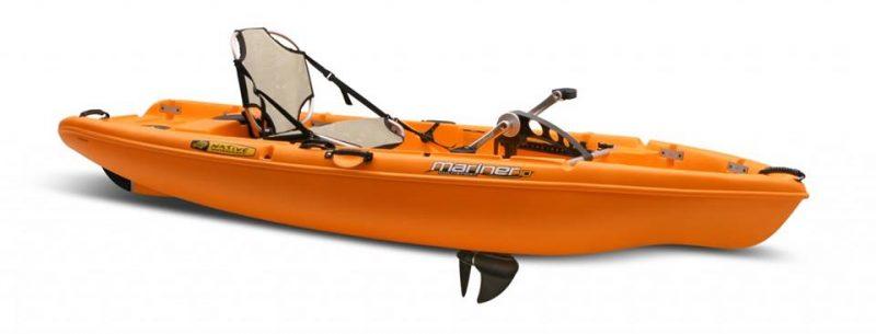 kayak a pedales de pesca y paseo