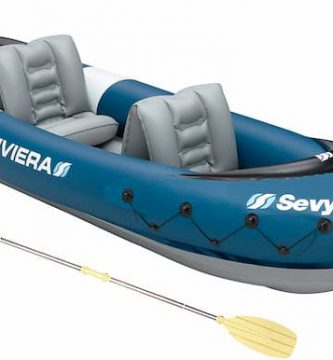 kayak hinchable sevylor riviera