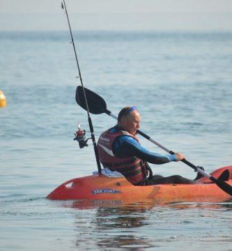 kayak de pesca de segunda mano